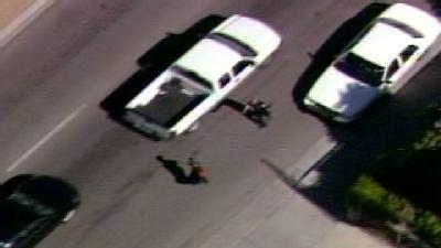 Police Nab Suspect After High Speed Chase