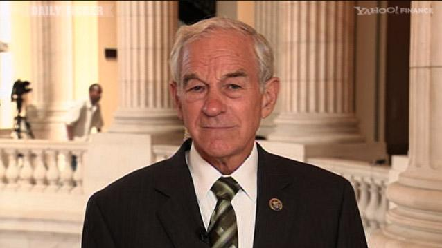 The Daily Ticker:Rep. Ron Paul: It's Time to Roll Back Big Government Now