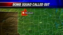 OHP bomb squad headed to Woodward