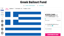 Crowdsourcing Greek debt