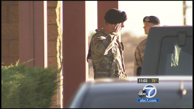 Edwards Air Force Base contractors furloughed