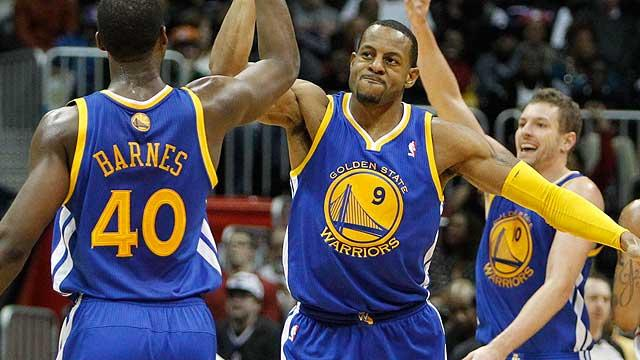 Warriors once again a top threat in Western Conference