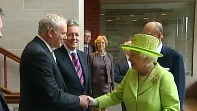 Queen Elizabeth's Historic Meeting With Former IRA Leader