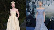 See Elle Fanning Channel Disney Princess Style - Today on POPSUGAR Live!