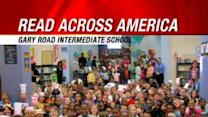 Stephanie Takes Part In 'Read Across America' At Gary Road