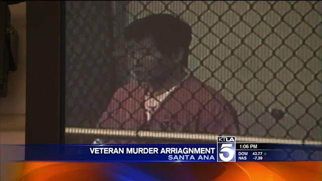 Man Charged in Death of Army Vet Appears in Court