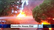 2 Roseville Homes Destroyed By Fire