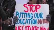 Striking teachers deliver new proposal