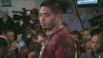 Manti Te'o Attends NFL Tryout Weekend, Reporters Follow