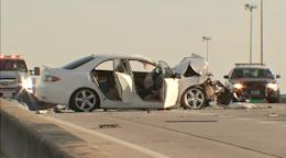 Fatal crash, downed power lines prompts shut down of 10