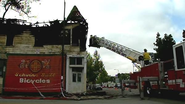 Historic building in San Jose damaged by 3-alarm fire