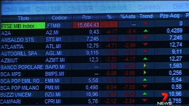 Hung parliament shakes world markets