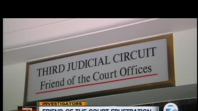 Frustrations with the Friend of the Court