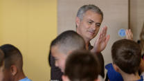 Mourinho unplugged with the kids