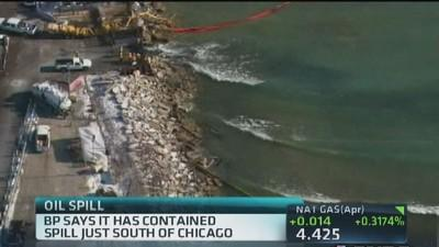 BP spill contained