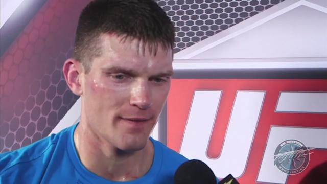 Returning after a long layoff, Stephen Thompson overcame 'jitters' to get back on the winning track