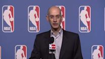 Silver Discusses Clippers, Sterling