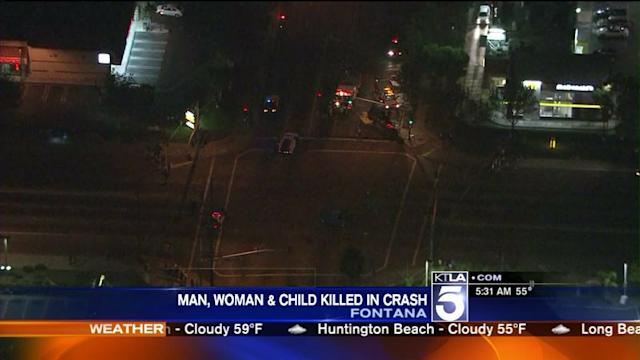 3 Dead, Others Injured in Fontana Car Crash
