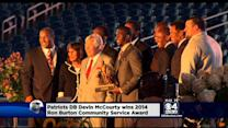 Devin McCourty Wins Ron Burton Award