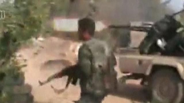 Rebel troops defeated in Syrian town of Qusair, govt. forces say