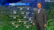 Weather Watch 4 forecast: Snow arriving after midnight