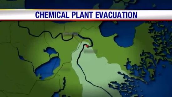 Chemical plant causes concern and a mandatory evacuation