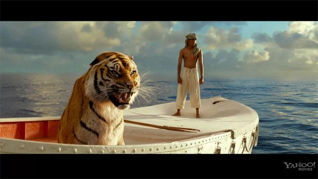 'Life of Pi' Clip: Flying Fish