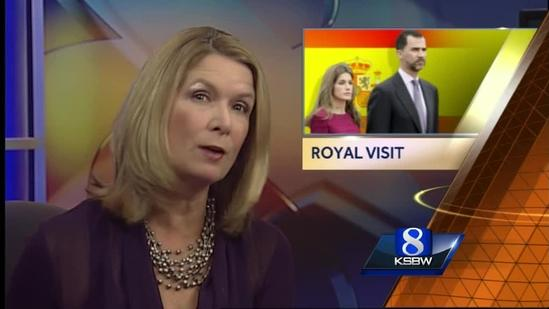 Royal prince and princess visit Carmel