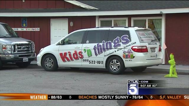 Search Underway for Man Who Stole Gas From Simi Valley Preschool