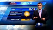Sunny skies, gusty winds expected Saturday