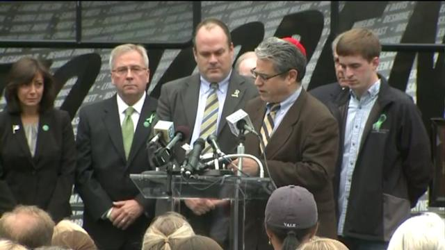 Six Months After Tragedy, Newtown Community Gathers For Ceremony