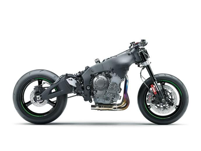 鋁合金雙環抱式車架,擁有輕量化及高剛性的特性。