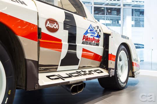 Audi Quattro S1與Walter Röhrl的極限之舞