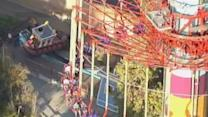 Ride stalls, people stuck 300 feet up for four hours
