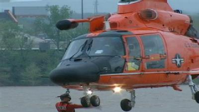 From Thunder: Coast Guard HH-65 Water Rescue
