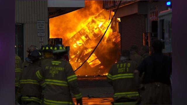 Saltwater Damage From Sandy To Blame For Jersey Blaze