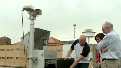 Local Officials Test Radiation Levels