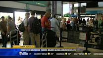 Computer meltdown causes major Alaska Airlines delays