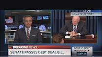 Debt deal passes in Senate, heads to House