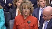 Former Rep. Giffords appeals to Congress for tougher gun control legislation