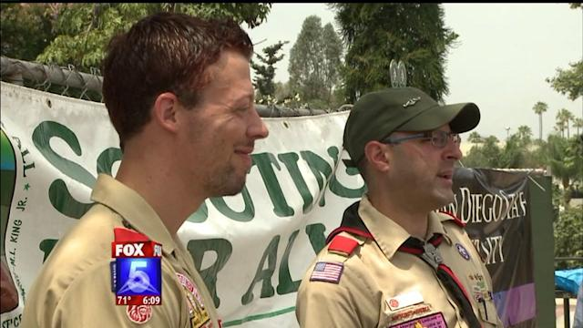 Openly Gay Eagle Scouts Kick Off Pride Festivities