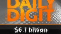 Daily Digit: $6.1 billion
