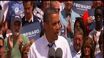 Obama views tax cuts as pocketbook issue in Ohio