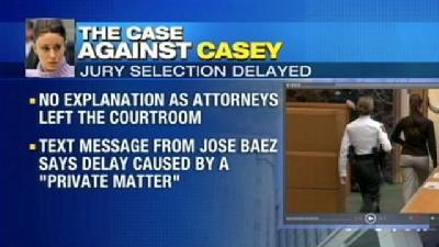 Baez: 'Private Matter' Led To Early Adjournment