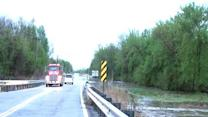 Flooding on Highway 16 April 18, 2013