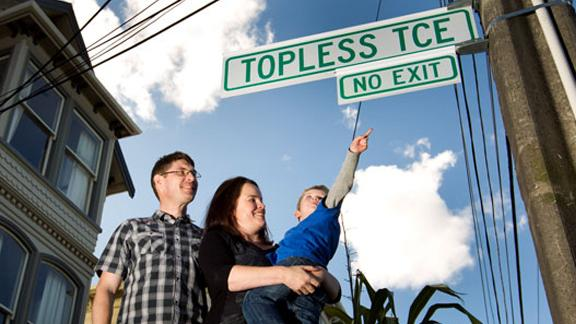 City Makes Embarrassing Typo On Street Sign
