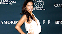 Adriana Lima's New Red Carpet Fashion