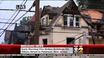 28 Displaced After Four-Alarm Fire Strikes Buildings In Paterson