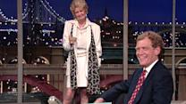 David Letterman - Elaine Stritch on The Late Show