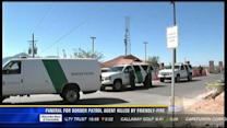 Funeral for Border Patrol agent killed by friendly-fire